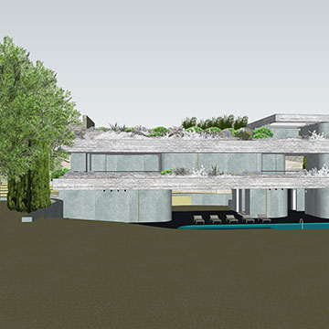 jardinières; architectural