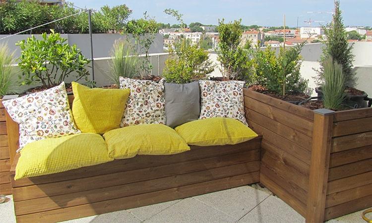Gingko; Montpellier; terrasse; balcon