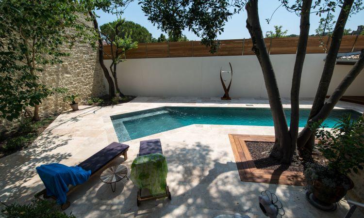 #patio#courinterieure#pierrenaturelle#eau#fontaine